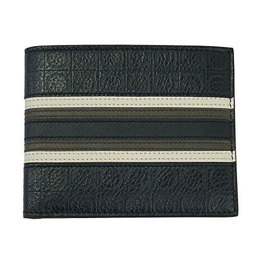 Blue Men's 66 Guncini fold 0696 Leather Wallet Bi Ferragamo AEF5wqq