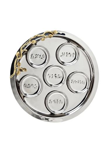 Godinger Silver Plated Plates (Godinger Silver Art Leaf Seder Plate)