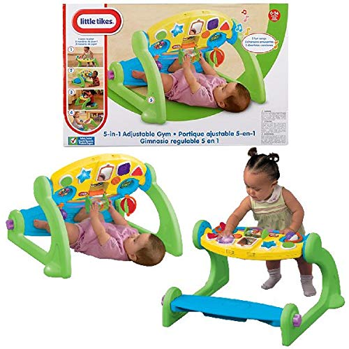 Little Tikes 5-in-1 Adjustable Gym, used for sale  Delivered anywhere in USA