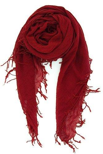 New Shawl Silk Scarf (Chan Luu New Biking Red Cashmere & Silk Soft Scarf Shawl Wrap)