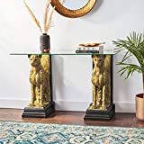 Design Toscano Royal Egyptian Cheetahs Console
