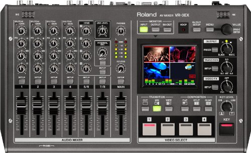 roland video mixer - 2
