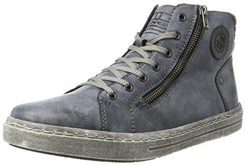 Rieker Parent Men boots blue, (ozean/schwarz/granit) 30921-14 Parent Rieker B0014FFUP0 abf70a
