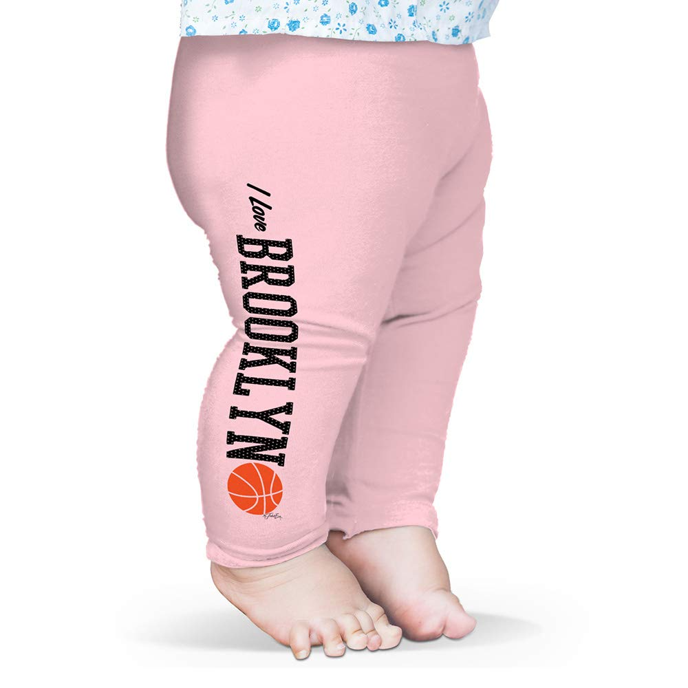 Twisted Envy Baby Leggings I Love Brooklyn Basketball