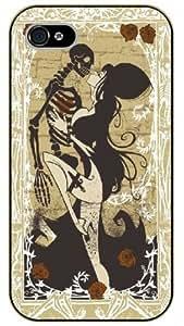 iPhone 5C Skeleton sexy dance - black plastic case / hipster, tribal