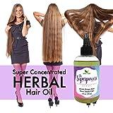 The Superpowers Hair Growth Serum, Fast Hair Growth Oil, Ayurvedic 10 Herb Coconut hair oil