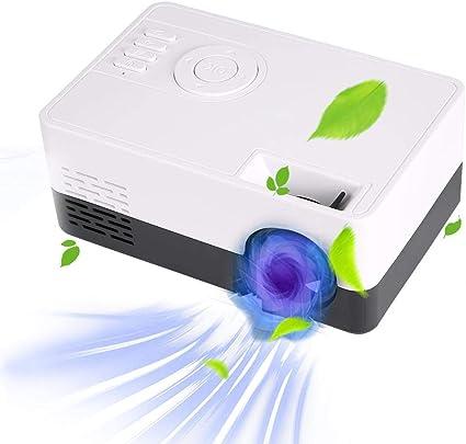 ASHATA Proyector LED HD, Manual para niños Focus LED Inalámbrico ...