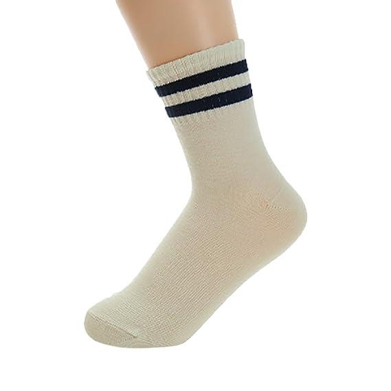 kinlene Mujer gato lindo raya estrella moda calcetín calcetines cómodos: Amazon.es: Ropa y accesorios