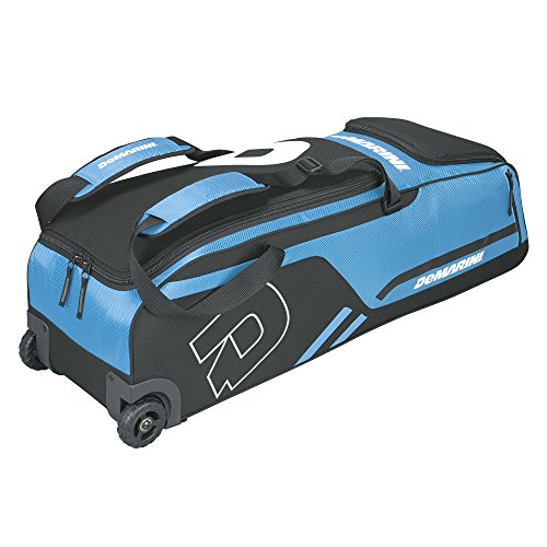 Demarini Equipment Bags (DeMarini Momentum Wheeled Bag, Victory Blue)