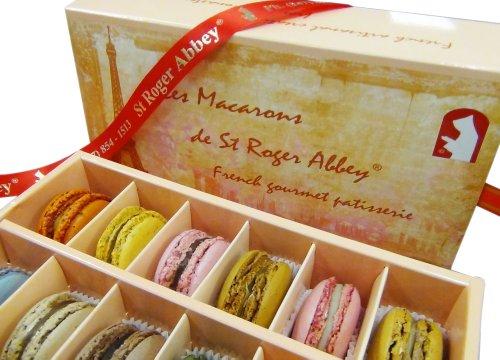 ORGANIC PARIS TOUR EIFFEL MACARON ASSORTMENT – Handmade with le savoir-faire Francais