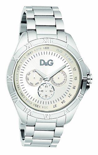 b73ea90fea Dolce & Gabbana Men's Chamonix DW0651 Silver Stainless-Steel Quartz Watch  with Silver Dial: Dolce & Gabbana: Amazon.ca: Watches