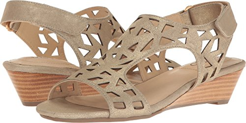 Suede Too Sienna pale Me Toe Open Womens Sandals Slingback gold Casual w1xUwtqE