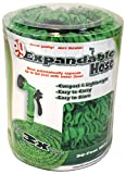 EMSCO 50' Expandable Hose with Spray Nozzle - Will Not Kink - Lightweight - Easy to Store - Durable Construction with Multiple Rubber Layers