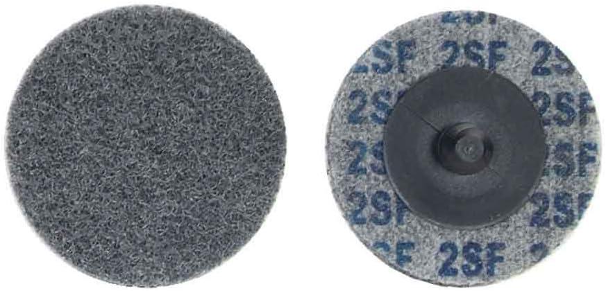 60 pack Norton 66261014889 2x1//4 in Bear-Tex Non-Woven Wheels