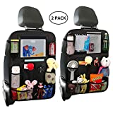 Gature Car Organizer Backseat with Touch Screen (Blue)