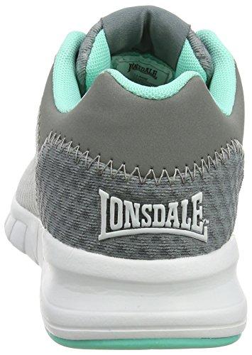 Grau Fitnessschuhe Damen Grey Grey Outdoor Mint Lonsdale Tydro zHFpSqWxv