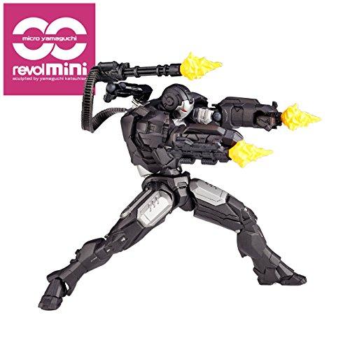 Revolmini Iron Man 2 War Machine 4″ Action Figure RM006
