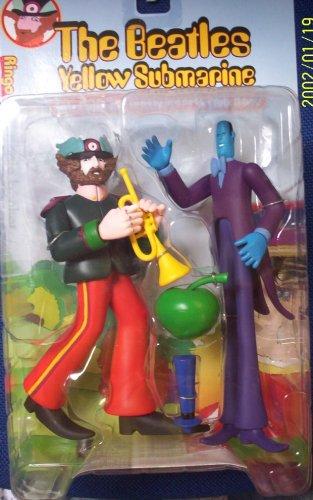 Mcfarlane The Beatles Gelb Submarine Ringo w  Apple Bonker 19 cm Action Figure