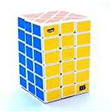 4x4 fisher - 4x4x6 Fisher Calvins White Cuboid Puzzle Cube Twisty Toy 6x4x4