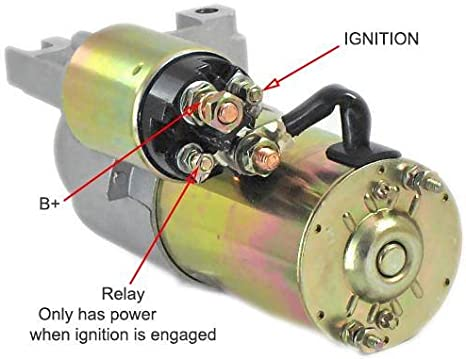 Amazon.com: Rareelectrical NEW SBC BBC CHEVY 3HP HIGH TORQUE MINI STARTER  FOR 327 350 400 COMPATIBLE WITH 153 TOOTH FLYWHEEL: Automotive | Chevy 327 Starter Wiring Diagram |  | Amazon