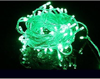 Green eu led christmas lights garland lights led m