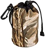 LensCoat LCLPSMWM4 LensPouch Small Wide (Realtree Max4 HD)