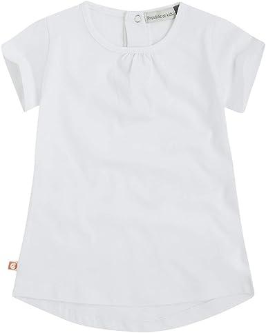 Canada House Camiseta bbplain bebé niña Blanca, Talla 36m: Amazon.es: Ropa y accesorios