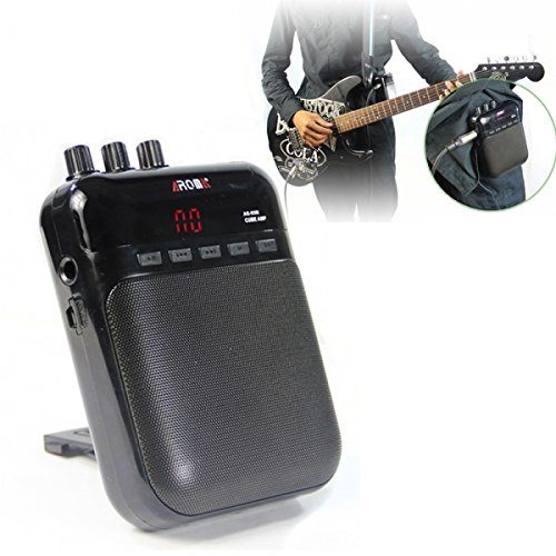 BephaMart AROMA AG-03M Portable Charging Mini Guitar Amplifier Black MK Bang MK-00753