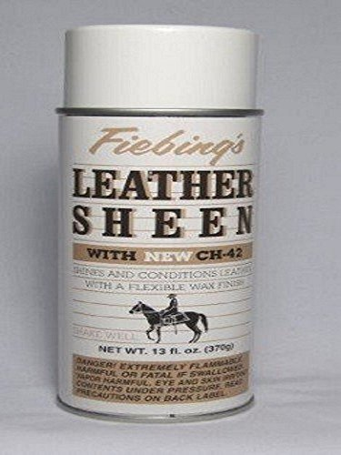 Fiebing's Leather Sheen with CH-42 Spray - 11 Ounces