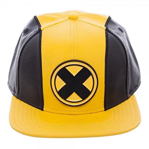 (X-Men Suit Up PU Snapback Hat (One Size - Adult - Ages 14+,)
