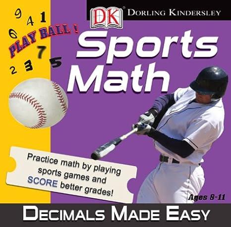 Amazon.com: DK Sports Math: Decimals Made Easy