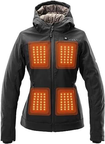 Kelvin Coats Heated Jacket for Women - 10Hr Battery, 5 Heat Zones - Fullerton
