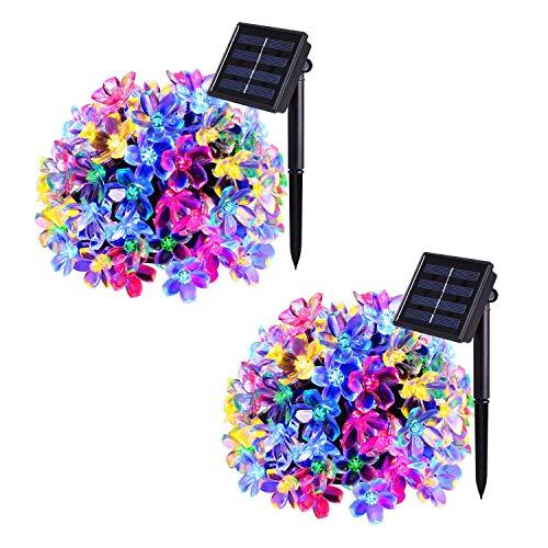 Flower Outdoor Fairy Lights in US - 5
