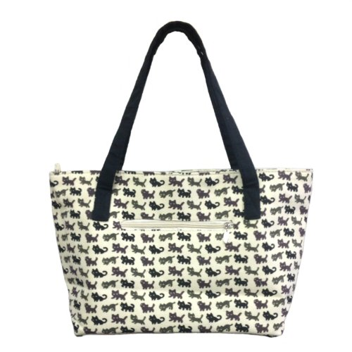 Zipper Canvas Tote