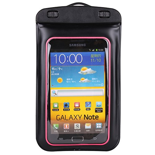 Jogging   Sport Waterresistant Armband And Waterproof Jack With Lanyad For Blackberry Keyone  4 5   And Blackberry Aurora  5 5    Pink Black