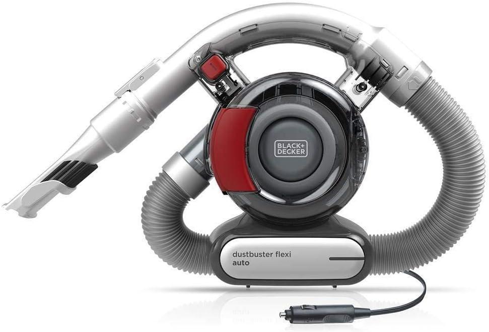 Black+Decker PD1200AV Aspirador de Mano para Coche, Ciclónico ...