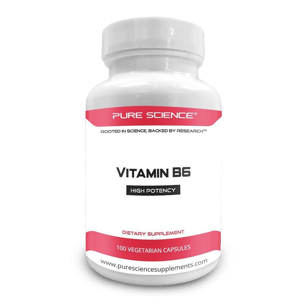 Amazon.com: Puro ciencia vitamina B6 (clorhidrato de ...