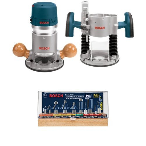 Bosch Router Kit and Router Bit Set