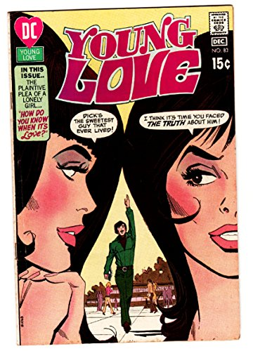YOUNG LOVE #83 comic book DC ROMANCE-GOOD ISSUE-GREAT COVER