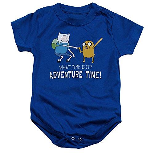 Adventure Time - Fist Bump Baby Onesie 6M]()