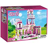 Webby Girl's Princess Castle Royal Feast Kids Toys Bricks Construction (Multicolor)-254 Pieces