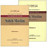 img - for The Translation of the Meanings of Summarized Sahih Muslim (2 Books) book / textbook / text book