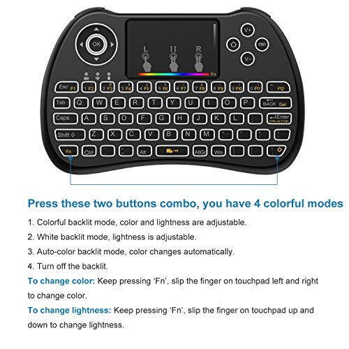 513uLQlngqL - Mitid Mini Keyboard Mouse Touchpad Remote Combos 2.4Ghz Wireless Extra Large Touch Area Control for Android TV Box, Google TV Box, IPTV, Smart TV and More