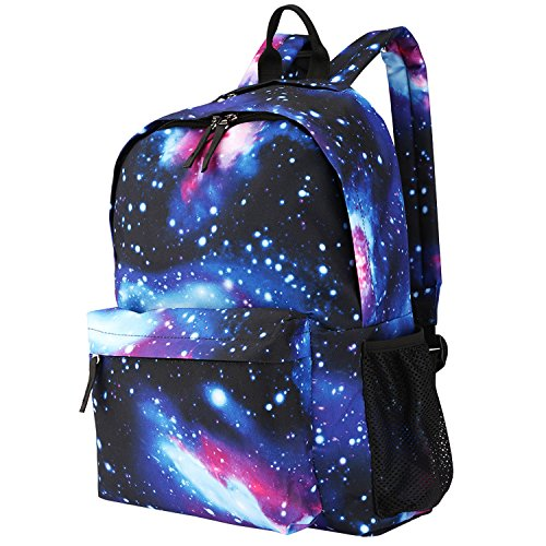 Luxspire School Backpack, Large Capacity Casual Galaxy for sale  Delivered anywhere in Canada