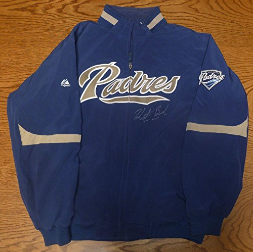 Heath Bell Signed 2010 Game Used San Diego Padres XXL Jacket COA Auto'd - PSA/DNA Certified - Other Game Used MLB Autographed Items