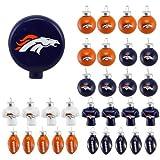 NFL 31 Piece Ornament Set NFL Team: Denver Broncos