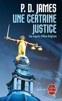 Une certaine justice par James