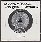 Lousiana Public Welfare Tax Token 1 cent token