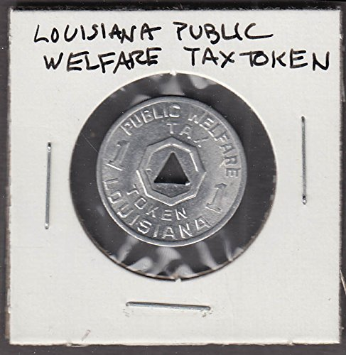 Lousiana Public Welfare Tax Token 1 cent token