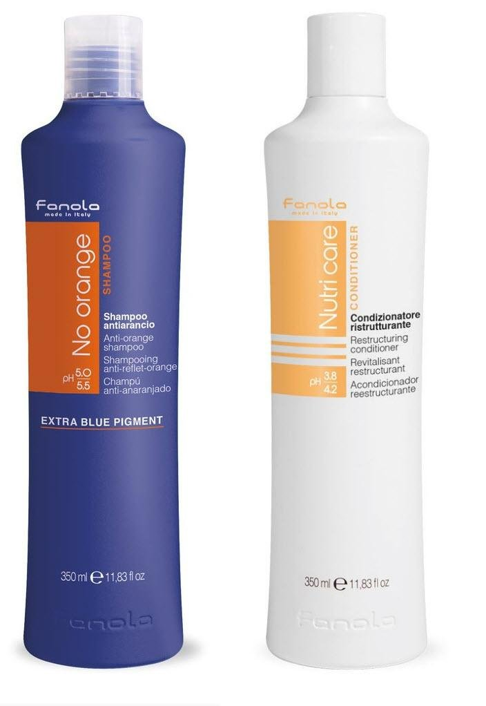 Fanola No Orange and Conditioner Package (350 ml) by Fanola